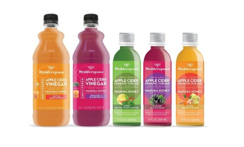 Wedderspoon Apple Cider Drinking Vinegars and Concentrates (Photo: Business Wire)