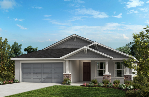 New KB homes now available in the Tampa area. (Photo: Business Wire)