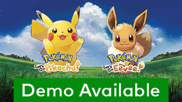 The demo version of the Pokémon: Let's Go, Pikachu! and Pokémon: Let's Go, Eevee! games is available ...