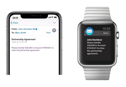 Sectigo Zero-Touch deployment of S/MIME certificates works seamlessly with Apple Mail and other popular operating systems to ensure email messages and attachments are encrypted, complying with HIPAA, GDPR, DFAR, and other standards.