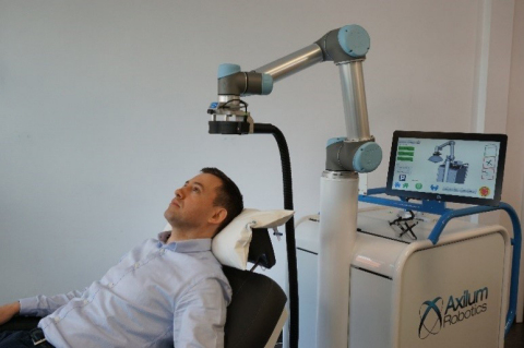 Axilum Robotics TMS-Cobot (Photo: Business Wire)