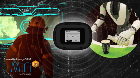 ©Inseego Corp. New 5G Use Cases, powered by MiFi iQ technology: Augmented reality for firefighters a ...