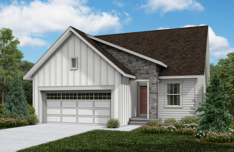 New KB homes now available in Brighton, Colorado. (Photo: Business Wire)