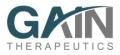 Gain       Therapeutics、希少疾患のリソソーム性蓄積症と中枢神経系の適応症に対する新規の脳透過性非競合的薬理学的シャペロンを開発すべく250万ユーロのシリーズA資金調達の完了を発表
