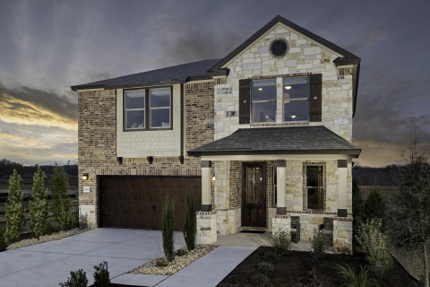 New KB homes now available in the Austin area. (Photo: Business Wire)