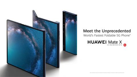 HUAWEI Mate X (Photo: Business Wire)