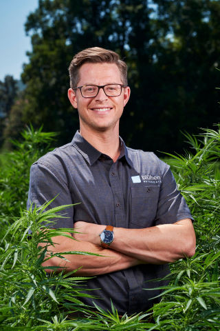 Joe Fox is Co-Founder and CEO of Blühen Botanicals (Photo: Business Wire)