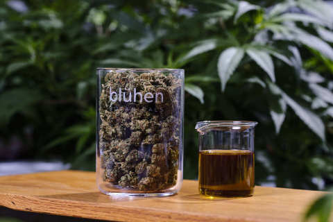 Blühen Hemp Flower and Extracts (Photo: Business Wire)