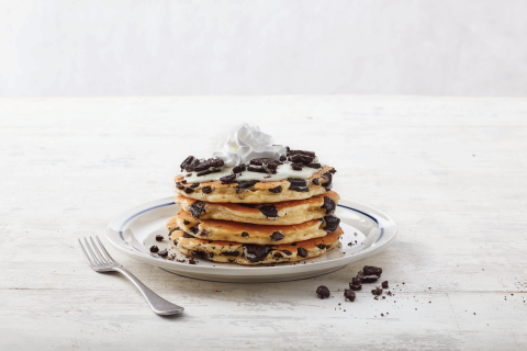 Taste Brody's winning pancake, OREO® Oh My Goodness, at IHOP Restaurants nationwide from February 25 – April 14, 2019; $1 from the sale of every OREO Oh My Goodness pancake stack or combo benefits the IHOP Free Pancake Day Charity partners (Photo: Business Wire)
