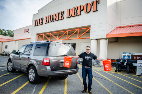 Marc Gorlin, Founder & CEO of Roadie, at The Home Depot (Photo: Business Wire)
