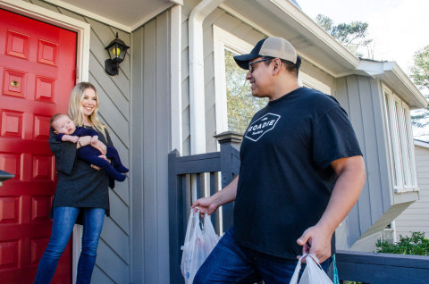 Roadie Home Delivery (Photo: Business Wire)