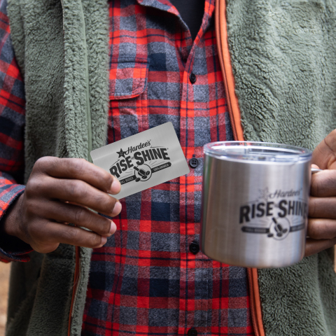 Hardee's Rise and Shine® Mug Club™ (Photo: Business Wire)