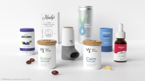 Cresco Labs new subsidiary Well Beings will have its own unique product line and produce CBD versions of Cresco Labs' house of branded products including Cresco, Remedi and Mindy's Edibles. (Photo: Business Wire)
