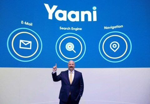 At Mobile World Congress (MWC) 2019, Turkey's search engine Yaani announced two new services: Yaani E-mail and Yaani Navigation. (Credit: Turkcell)