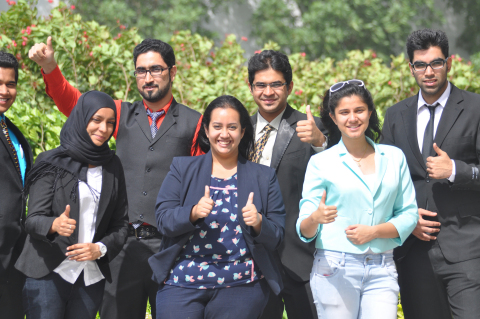 Students at Dubai International Academic City (Photo: AETOSWire)