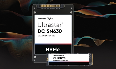 Western Digital Ultrastar DC SN630 and CL SN270 - New NVMe SSDs designed for the data center and edge workloads. (Graphic: Business Wire)