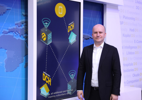 Turkcell, the world's fastest growing digital operator, introduced its blockchain service for ID Management at the Mobile World Congress (MWC) 2019. (Credits: Turkcell)