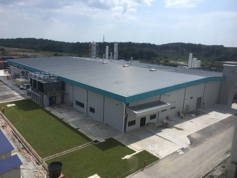 The world's first production factory to feature the Direct Wafer(R) manufacturing process. (Photo: Business Wire)