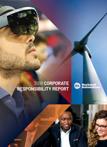 Rockwell Automation 2018 Corporate Social Responsibility Report (Graphic: Business Wire)