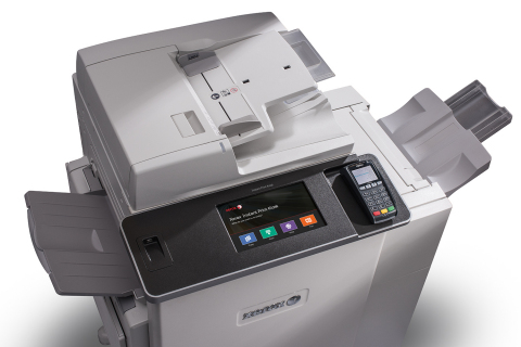 The Xerox Instant Print Kiosk offers fast and easy access to popular cloud services and common printing, copying, scanning and faxing applications, making it the ideal self-serve solution for those on the go. (Photo: Business Wire)