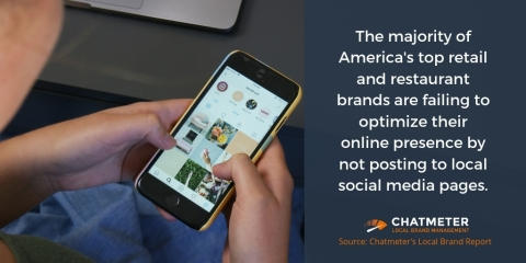 Active and accurate social media pages for each business location are essential for brands to be discovered in local search and voice search.