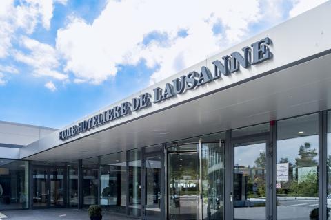EHL, Lausanne Campus entrance (Photo: EHL)