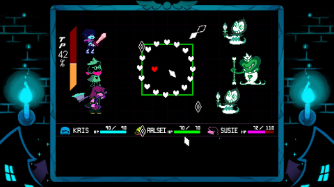 From the creator of UNDERTALE comes a new RPG, DELTARUNE Chapter 1. (Photo: Business Wire)