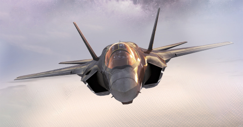 BAE Systems has upgraded the AN/ASQ-239 electronic warfare system for the F-35 Lightning II to meet future capability requirements and improve warfighters' ability to conduct critical missions in contested airspace. (Photo: BAE Systems, Inc.)