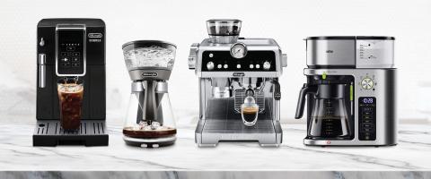 De'Longhi Dinamica Fully Automatic Coffee Machine, De'Longhi 3 in 1 Specialty Brewer, De'Longhi La S ...