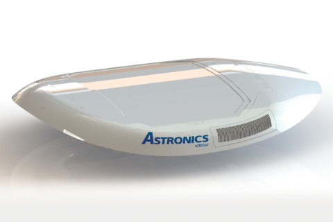 Astronics will preview its new E-Series ESA SATCOM connectivity antennas at AIX in Hamburg, Germany, from April 2-4. (Photo: Business Wire)
