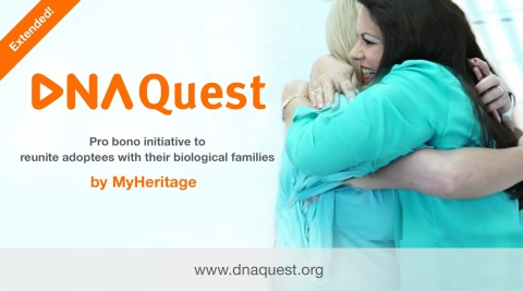 MyHeritage Extends DNA Quest Initiative to Help More Adoptees Reunite with Their Birth Families (Photo: Business Wire)