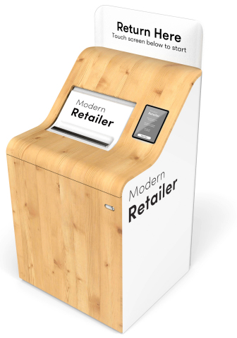 Self-service return kiosk powered by Happy Returns (Photo: Business Wire)