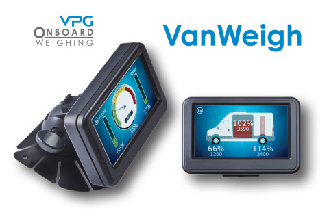 VPG Onboard Weighing second generation VanWeigh® axle overload monitoring system (Photo: Business Wi ...