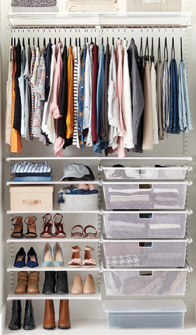 The Container Store Custom Closets: Elfa Classic (Photo: Business Wire)
