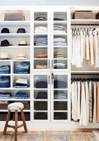 The Container Store Custom Closets: Laren in White (Photo: Business Wire)