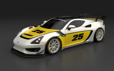 The Saleen Cup will feature fully-prepared, track-ready versions of the company's new Saleen 1 sports car. (Photo: Business Wire)