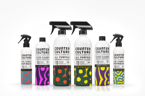 Counter Culture Probiotic All-Purpose Cleaners, Air & Fabric Refreshers and Floor Cleaner Concentrat ...