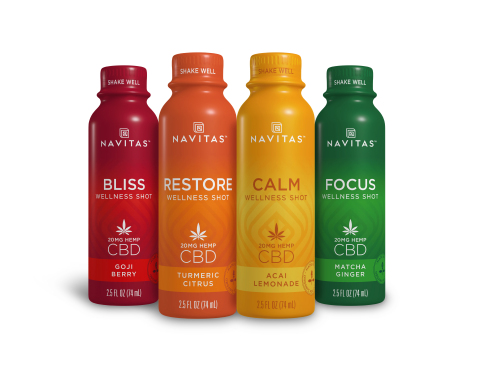 Navitas Organics CBD Wellness Shots (Photo: Business Wire)