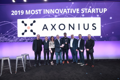 """Axonius Named """"Most Innovative Startup"""" at 2019 RSA Conference Innovation Sandbox Contest (Photo: Business Wire)"""