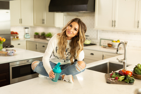 Jessie James Decker has lost 25 lbs. on the South Beach Diet, after giving birth to her third child in March 2018. She has served as the brand's lead ambassador since 2017, appearing in its 360-degree marketing campaign.