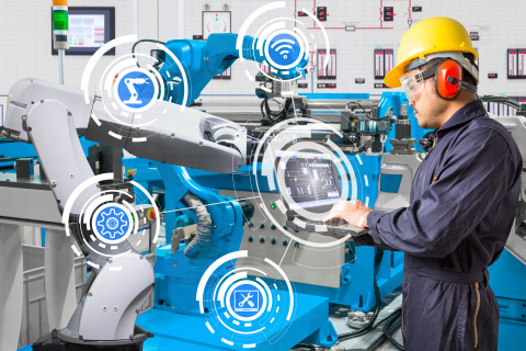 ThingWorx 8.4 introduces new capabilities, including Operator Advisor, designed to increase productivity of factory workers by simplifying the way critical operational data is collected, synthesized, and delivered. (Photo: Business Wire)