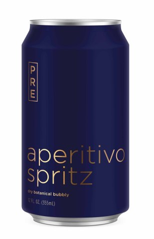 Pre Aperitivo Spritz is a 6.6% ABV dry, botanical bubbly with an herbaceous bitterness that stays true to a classic Italian aperitivo. (Photo: Business Wire)