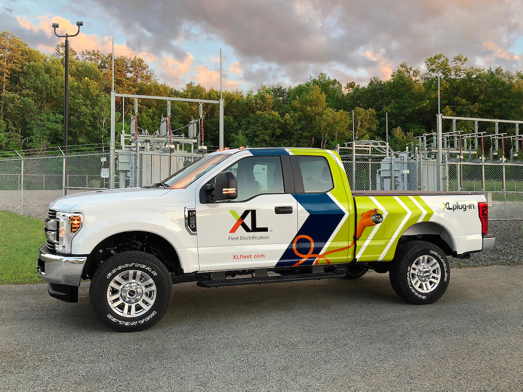 Xl Launches Industry First Plug In Hybrid Electric Ford F 250 Pickup Business Wire
