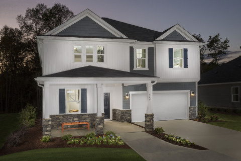 New KB homes now available in Fuquay-Varina. (Photo: Business Wire)