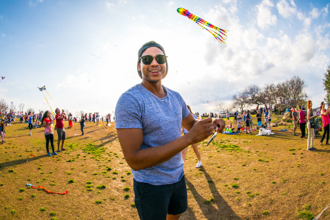 "The ABC Kite Fest—dubbed by Austin Mayor Steve Adler as a ""community treasure""—celebrates its 90th year on March 31, 2019 in Zilker Park. (Photo: Business Wire)"