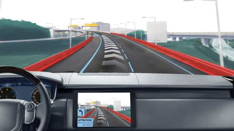 TomTom and Elektrobit Reveal First HD Map Horizon for Automated Driving (Graphic: Business Wire)