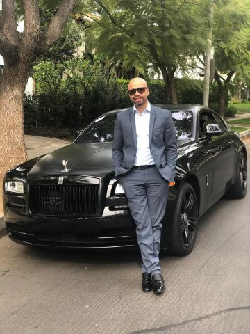 Pictured: Omar McGee, CEO of Posh Luxury Imports. Posh provides service through its exotic car rental and sales & brokering divisions. (Photo: Business Wire)