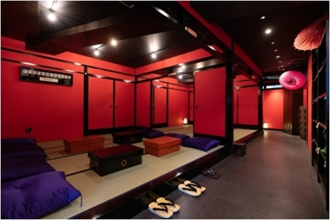 Interior view of VR NINJA DOJO (Photo: Business Wire)