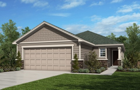 New KB homes now available in Jacksonville. (Photo: Business Wire)