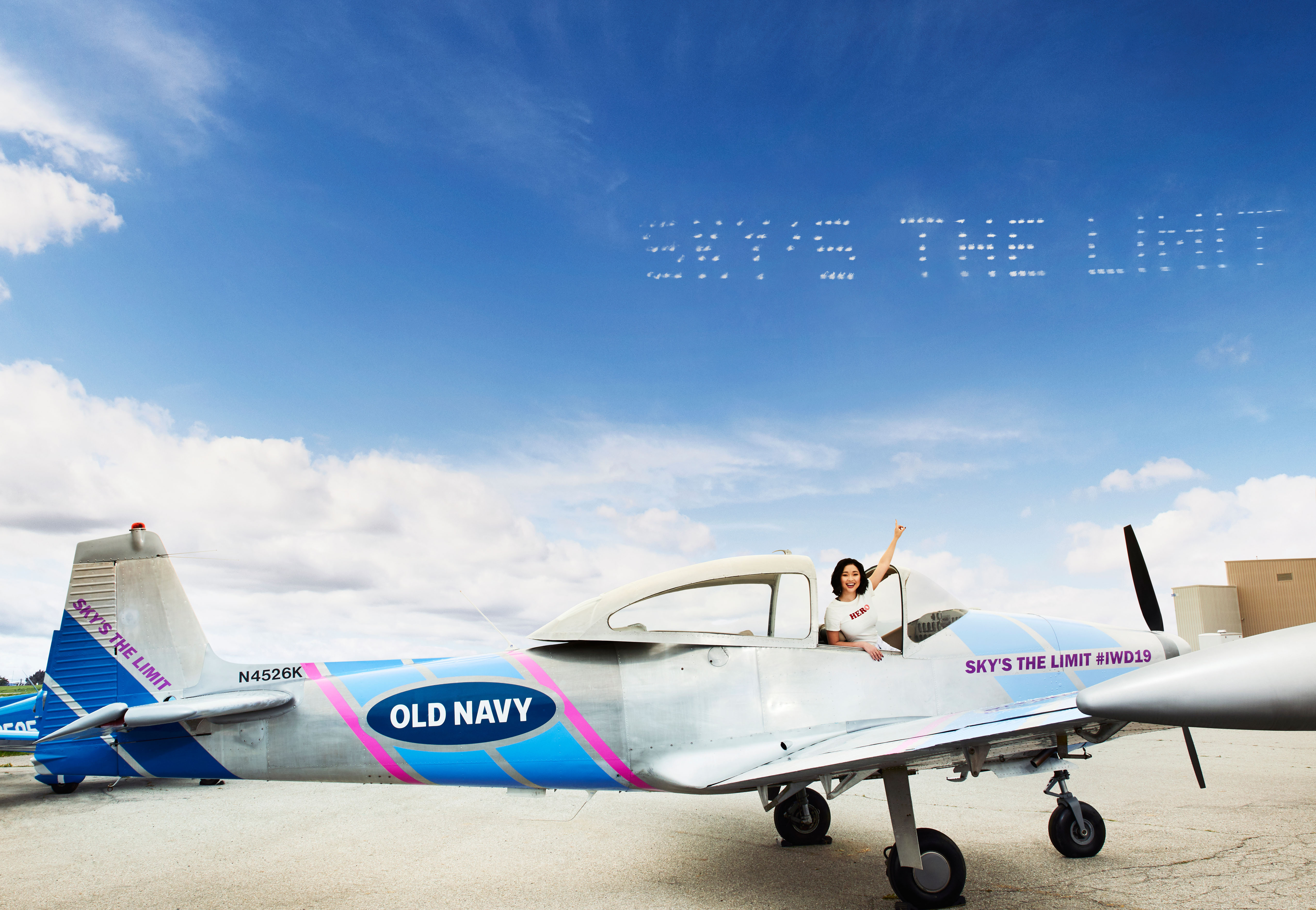 Old Navy Celebrates International Womens Day With Sky High Messages